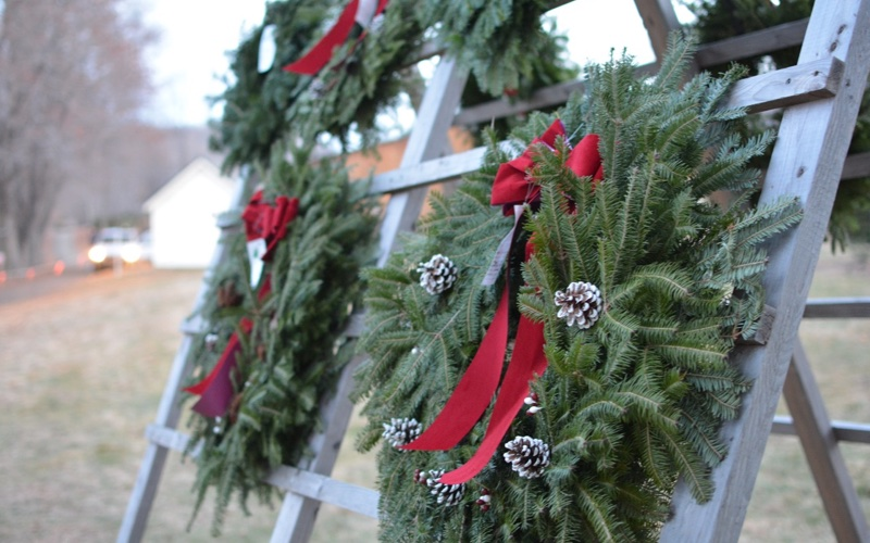 wreaths1 - Abel's Trees €� Choose And Cut Christmas Trees Hudson Valley NY